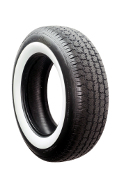 American Classic Car Tyre (75MM White Wall)