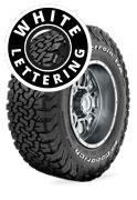 BFGoodrich All Terrain T/A KO2 - Raised White Lettering 4 x 4 Tyre