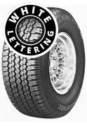 Bridgestone Dueler H/T 689 - Raised Outline White Lettering