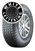 General Grabber AT3 - Outline White Lettering 4 x 4 Tyre