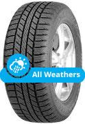 Goodyear Wrangler HP AllWeather 4 x 4 Tyre
