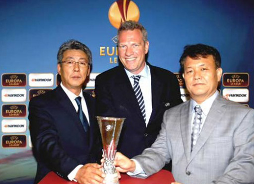 Hankook official sponsor of Eufa Europa League