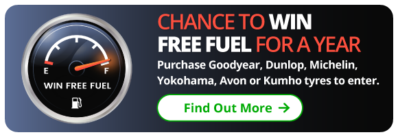 Chance to win free fuel for a year