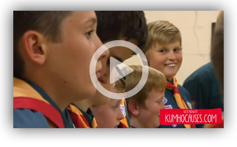 Kumho Cash for Causes - St Andrew's Scouts video