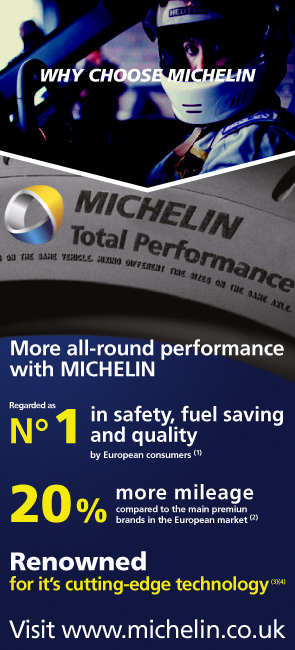 Why choose Michelin - Michelin Total Performance