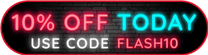 24 hour 10% off flash sale