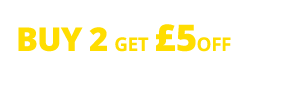 Multibuy offer buy two get £5 off or buy four get £12.50 off