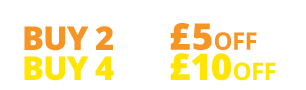 Multibuy offer buy two tyres get £5 off or buy four tyres and get £10 off