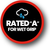 Rated A for Wet grip
