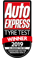Goodyear Vector 4 Seasons Gen-2 wins Auto Express All Season tyre test 2019